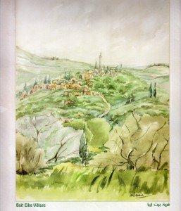 Le village de Beit Iba