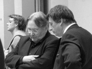 MM. Serge Hustache Député Provincial et Rudy Demotte Bourgmestre de Tournai
